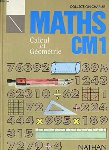 Calcul et géométrie, CM1. Fichier du maître