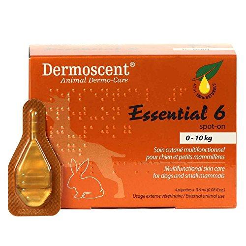 Merial Dermoscent4Pipetas de Spot OnPerro hasta 10 kg