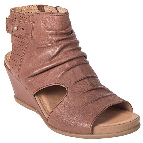 15f3900bd56ca Kalso Earth Shoes Femmes Couleur Marron Coffee Tumbled Leather Taille 36 EU  / 5.