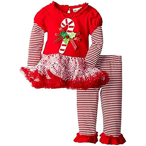 Highdas Baby Girl Clothes Davidsdeer Suit bambini Set Natale T-shirt manica lunga + banda Pant Outfits Gonna