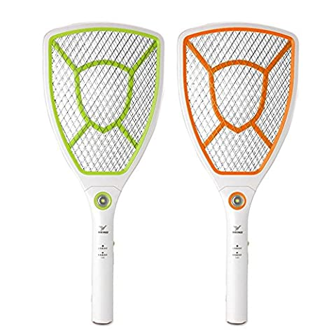 HOUTBY™ LED Electronic Fly Swatter Mosquito killer Bug Zapper control Racket Insects Bat