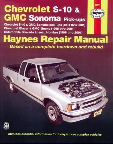 Chevrolet S-10 & GMC Sonoma Pick-ups (Haynes Repair Manual) (Inc Blazer)
