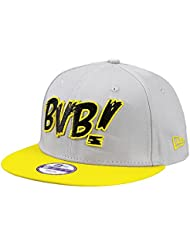 BVB-Kappe 9Fifty grau/gelb für Kinder (grau (silbergrau))