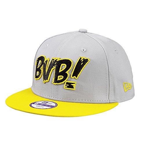 BVB-Kappe 9Fifty grau/gelb für Kinder one size