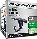 RAMEDER Komplettsatz, Anhängerkupplung abnehmbar + 13pol Elektrik für BMW 5 Touring (119924-08762-1)