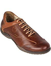 tZaro Federer Genuine Leather Sporty Look Lifestyle Shoes