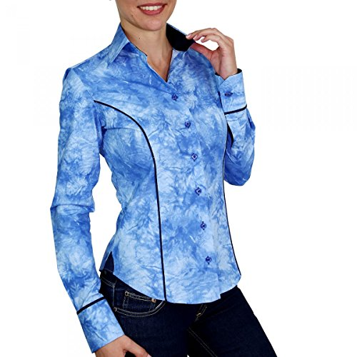 Andrew Mc Allister Chemise Mode Kalypso Bleu Bleu