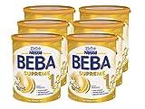 Nestlé BEBA SUPREME 1 Anfangsmilch: von Geburt an, trinkfertiges Pulver, hypo-allergene Säuglingsanfangsnahrung, mit pflanzlichen Ölen, 6er Pack (6 x 800g)