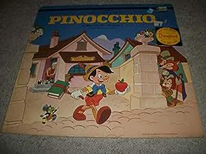 Vinyl LP/ Pinocchio / Disneyland