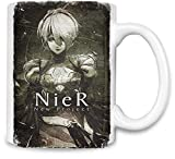 Style Matters Nier Automata Unique Coffee Mug | 11Oz Ceramic Cup| The Best Way to Surprise Everyone on Your Special Day| Custom Mugs by