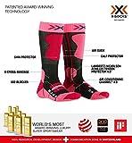 X-SOCKS 4.0 Chaussettes de Ski pour Enfant L