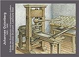 Gutenberg / Johannes Gutenberg: Buchgewerbe / Postkarten-Edition Druckpresse 0,45