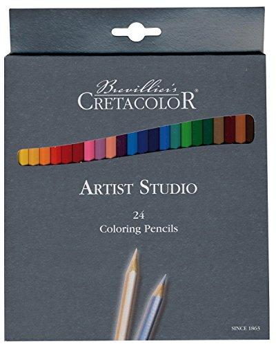 Cretacolor K280.24 Buntstifte, 24Stück, in Karton
