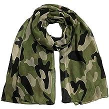 Keepwin Écharpe de dame de camouflage, châle de camouflage de mode de femmes  Pashmina a c6a9fc1ed21