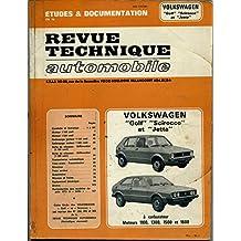 Revue Technique Automobile Volkswagen Golf Scirocco et Jetta CIP 3504
