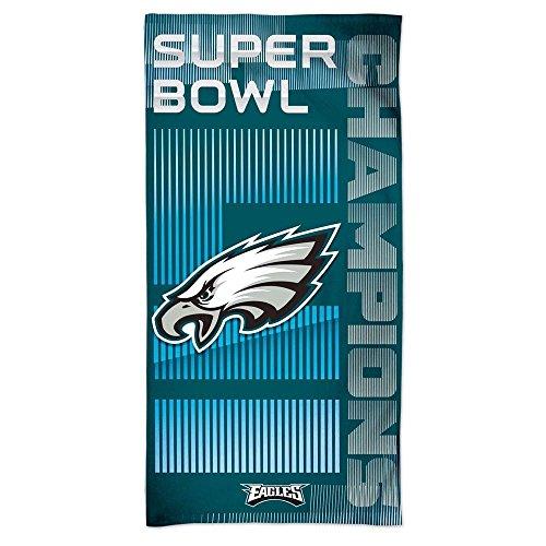 c1d1099f2d1cd WinCraft NFL PHILADELPHIA EAGLES Super Bowl 2018 Champions Spectra Beach  Towel