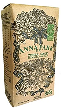 Anna Park Yerba Mate - Organic - The Best Yerba Mate in the World! 500 Grs/1.1 Lbs/16.9 Oz
