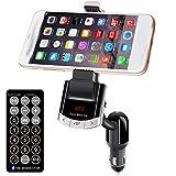 Multi Bluetooth Car Kit FM Transmitter USB Ladegerät Handyhalter Handfree Calling Mit Unterstützung Musik Spielen