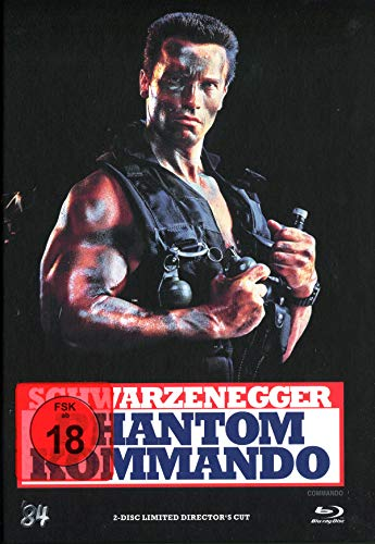 Phantom Kommando - 2-Disc Limited Director's Cut (+ DVD) [Blu-ray]