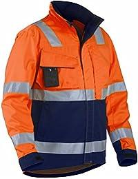 """Blakläder Jacke """"High-Vis"""" Klasse 3, 1 Stück, XXL, orange / marineblau, 406418115389XXL"""