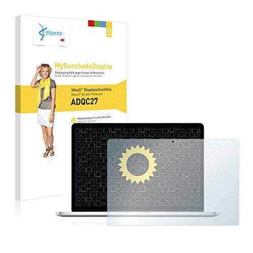 """Vikuiti Displayschutzfolie ADQC27 von 3M für Apple MacBook Pro 15"""" (Mitte 2012) Schutzfolie Folie - Klar, Reflexmindernd"""