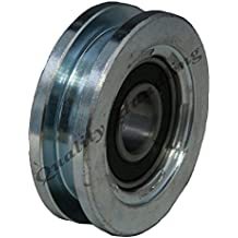 Rueda de puerta corredera rueda de la rueda 60 mm Rueda de acero cuadrado de la