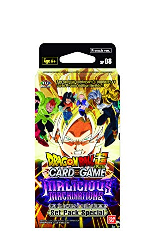 Dragon Ball Super Card Game : Set Pack Spécial Série 8 'Malicious Machinations' - Version Francaise SP08
