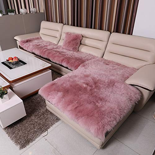 Wolle Sofakissen Teppichbett Decke eine Qualitätssicherung rosa 60 * 180cm