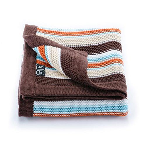 ABC Design–Asalvo Decke für Kinderwagen Brownie braun