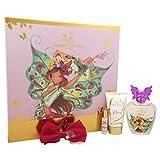 Winx Fairy Couture Flora Chic Essence Coffret: Eau De Toilette Spray 100ml + Body Lotion 75ml + Rollerball 5ml + Hair Clip 4pcs