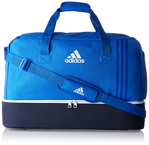 adidas Tiro L Team-Tasche, Blue/Collegiate Navy/White, 27 x 61 x 28