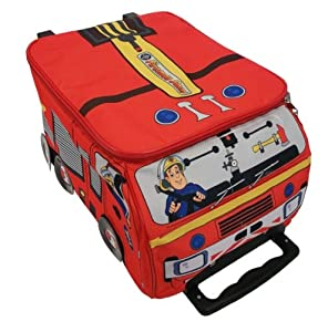 Fireman Sam Novelty Wheeled Case from Trade Mark Collections