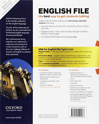 Libro English file gold  B2 Premium Student's Book wb with ebk with