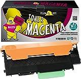 Yellow Yeti CLT-M404S (1000 Seiten) Magenta Premium Toner kompatibel für Samsung Xpress SL-C430 C430W SL-C480 C480FN C480FW C480W [3 Jahre Garantie]