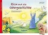 Rica und die Ostergeschichte mit Stoffschaf: Ein Folien-Osterkalender zum Vorlesen und Gestalten eines Fensterbildes