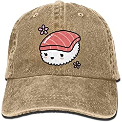 Kawaii Sushi Adjustable Cotton Cap