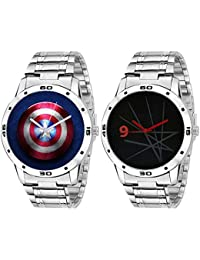 On Time Octus Combo Of 2 Analog Watch For Boys And Mens 314-317