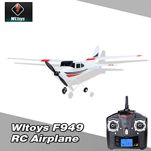Wltoys F949 2,4 G 3Ch RC Flugzeug Fixed Wing Flugzeug Outdoor Spielzeug -