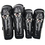 DADEQISH Protezioni per gomiti in gomma da fuoristrada per motocicli Accessori per attrezzi da moto