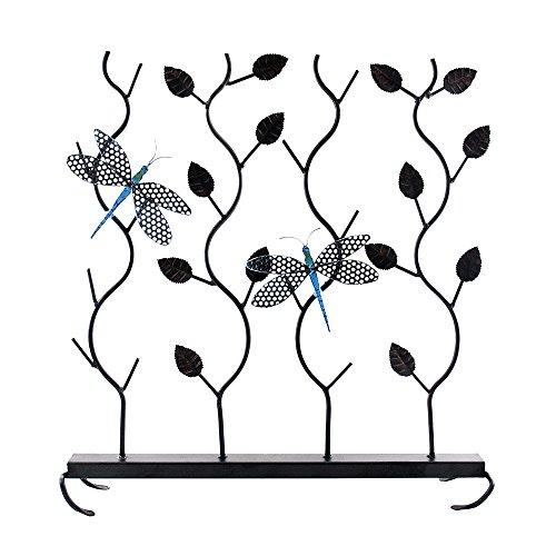 Bronze-kamin-bildschirm (Minuteman International Libellen Sommer Bildschirm, schwarz, S)