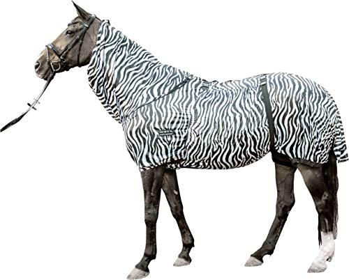 HKM Ekzemer-Decke -Zebra-, weiß/schwarz, 165
