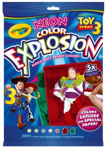 Crayola Neon Color explosión de Toy Story
