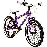 Difiori Bella 18 Zoll Mädchenfahrrad Kinderfahrrad Fahrrad ab ca. 5 Jahre