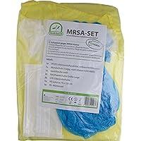 MRSA - SET mit zertifizierten Schutzkittel Infektions Schutzset von Medi-Inn TOP (10) preisvergleich bei billige-tabletten.eu