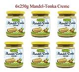 MANDEL-TONKA CREME Rapunzel 6x250g NEU