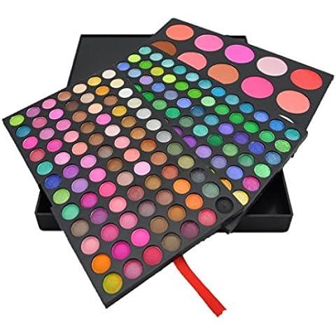 F&HY&L 183 colori ombretti + blush + Rong Zhuguang tre-tiered portfolio trucco moda trucco
