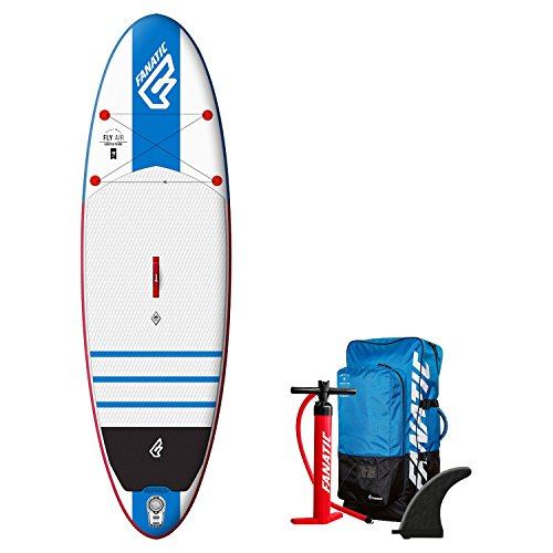 "Fanatic Fly Air 10'8"" Inflatable Sup 2016 Wellenreiter"