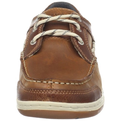 Sebago Triton Three Eye - Chaussures bateau - Homme Marron (British Tan/Brn)