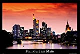 Close Up Frankfurt am Main Poster (91,5cm x 61cm)