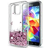 Best Coque Galaxy S5 - Coque Samsung Galaxy S5 Liquide Paillette Etui avec Review